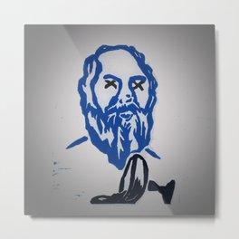 Socrates death Metal Print