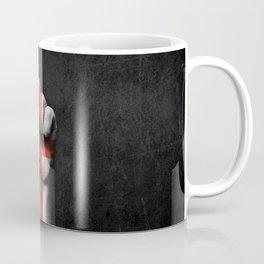 English Flag on a Raised Clenched Fist Coffee Mug