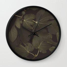 Botanical I _ Night Wall Clock