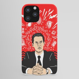 Twin Peaks: Dale Cooper's Thoughts iPhone Case