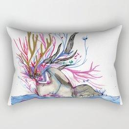 The nature woman Rectangular Pillow