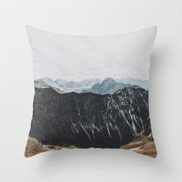 interstellar - landscape photography Throw Pillow