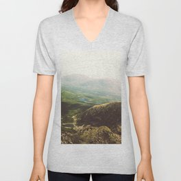 From the Top. Unisex V-Neck