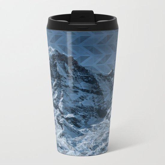 White Mountain Metal Travel Mug