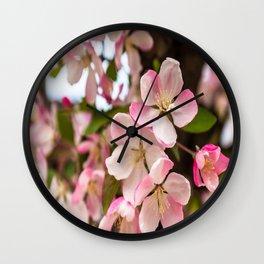 Spring Blooming Wall Clock
