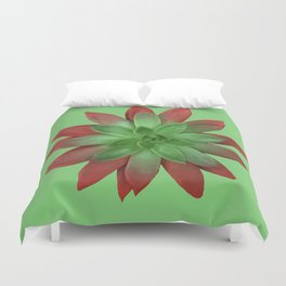 The Nature of Things Two #succulent Duvet Cover