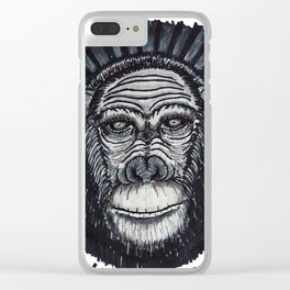 Consciousness Clear iPhone Case