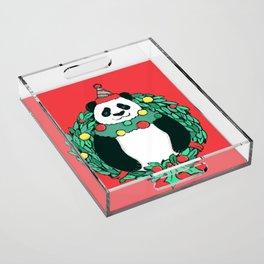Beary Christmas Acrylic Tray