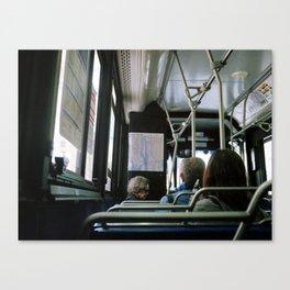 City Bus Canvas Print