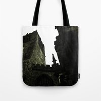 religious Tote Bags featuring Religious Perspectives by Glanoramay