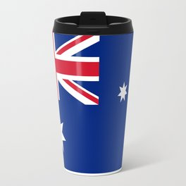 The National flag of Australia, authentic version (color & scale 1:2) Travel Mug