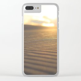 SILVER SANDS IN COLOR Clear iPhone Case
