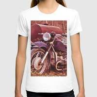 moto T-shirts featuring Vintage Moto by Eduard Leasa Photography