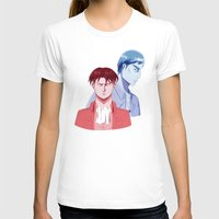 dad T-shirts featuring Red Dad Blue Dad by Saintly