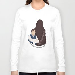 Who's Scruffy Looking?  Long Sleeve T-shirt