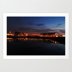 Reflected Lights Art Print