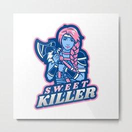 Sweet Killer Metal Print