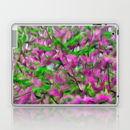 Abstract Flowery Pattern Laptop & iPad Skin