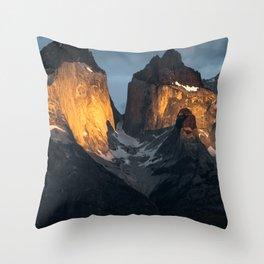 Patagonian Morning Throw Pillow