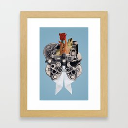 Curiosity and Suspicion Framed Art Print