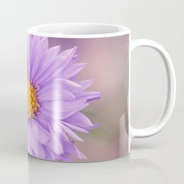 A Purple Flower Coffee Mug