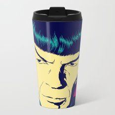 Spock Logic Metal Travel Mug