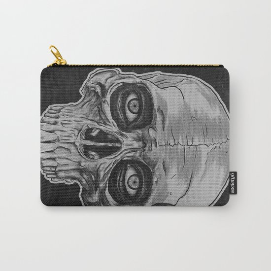 Behind the skull Carry-All Pouch