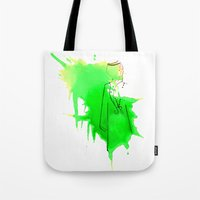 sword Tote Bags featuring Sword Dance by Noura Bouzo