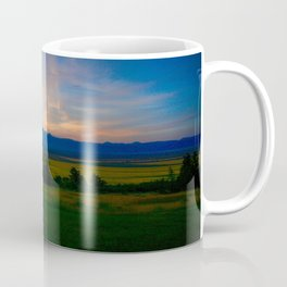 Teton Valley Sunset Coffee Mug