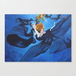 Escape Under Blue Canvas Print