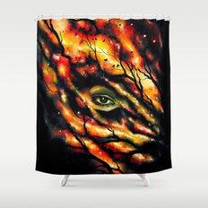 Spy Shower Curtain