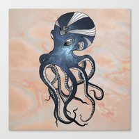 goddess Canvas Prints featuring Goddess by Janss