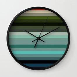 Les ligne de couleurs 01 Wall Clock