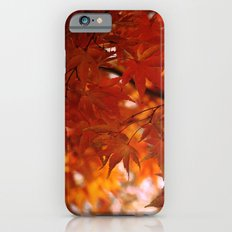 engulfed in flame iPhone 6s Slim Case