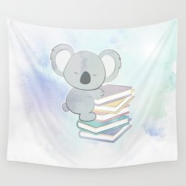 KOALA READS Wall Tapestry