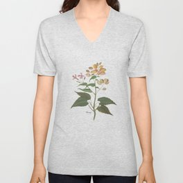 Honesty - botanical Unisex V-Neck