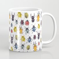 bugs Mugs featuring Bugs by Marina Eiro