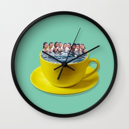 Cup of ladies Wall Clock