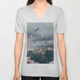 Evenings that I can't Remember Unisex V-Neck