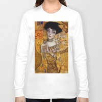 gustav klimt Long Sleeve T-shirts featuring klimt by Antonio Lorente