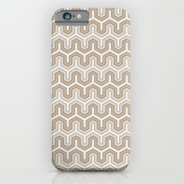 Oriental Geometric Pattern iPhone Case