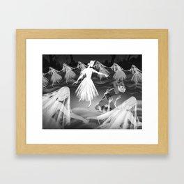 Death of Hilarion Framed Art Print