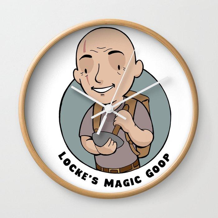 Locke's Magic Goop Wall Clock