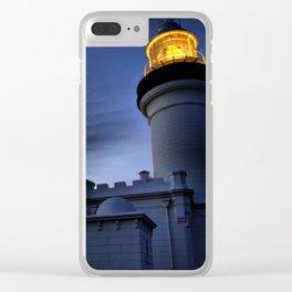 Light on Light Clear iPhone Case
