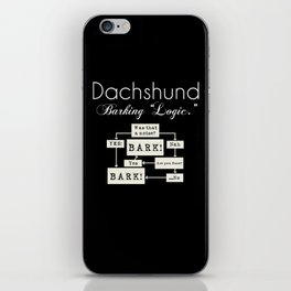 Barking is the Option iPhone Skin