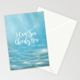 I Can Sea Clearly Now Stationery Cards