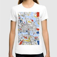 stockholm T-shirts featuring Stockholm by Mondrian Maps