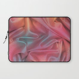 Folds of Elegant Color Pattern Laptop Sleeve