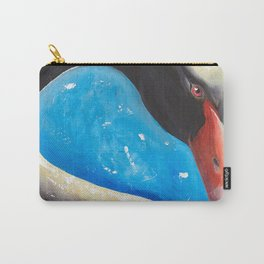 "Black swan - ""Sun bath"" - by LiliFlore Carry-All Pouch"