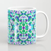 kaleidoscope Mugs featuring kaleidoscope by Isabella Salamone